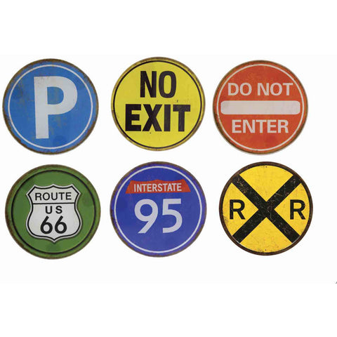 Road Trip Glass - Coaster Set