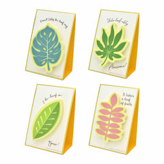 Stand Up Stationery Pop Up Sticky Notes - Leaves