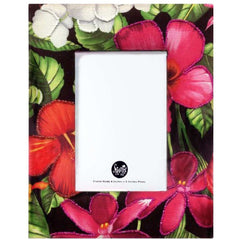 "Tropical Flower 4x6"" Picture Frame"