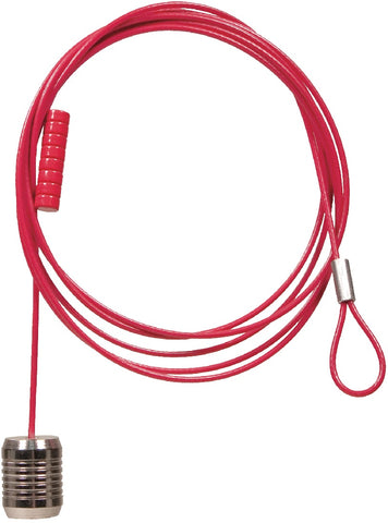 Magnetic Color Cable & Magnets Set - Red