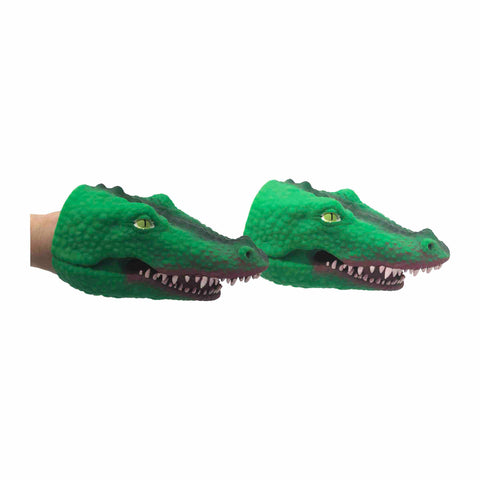 Fierce Crocodile Hand Puppets
