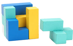 Color Wood Block Puzzles