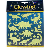 Glitter & Glow Wall Decal Assortment- Dinosaur