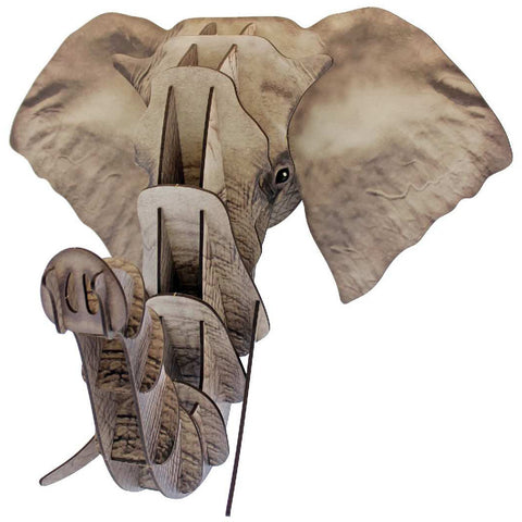 Puzzle Plaque - Elephant