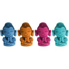 Plush Buddha Sound Bag Tag Clip