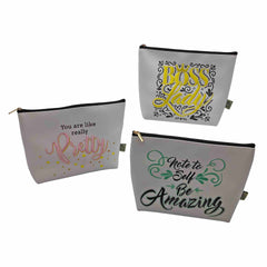 F.A.W.K. Large Cosmetic Bags