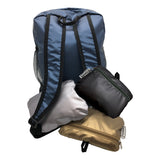 Metallic Stash & Go Backpack