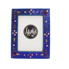 "Blue Glitter Photo - 3.5x5"" Frame"