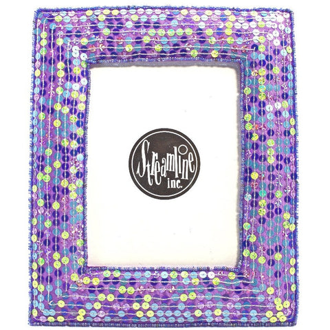"Lilac Sequin - 4x6"" Frame"