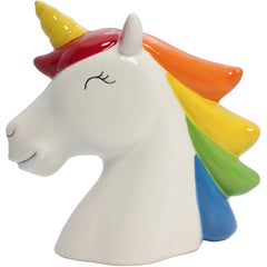 Rainbow Unicorn Money Bank