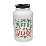 Weed & Tacos Money Bank