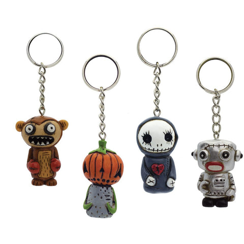 Boogily Collection- Boogily Heads Key Chain - Asst/6