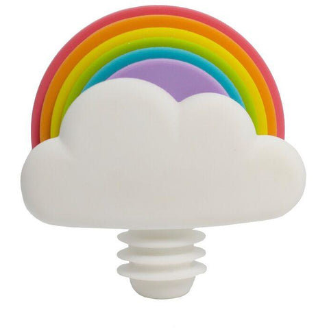 Rainbow Wine Stopper & Markers Set