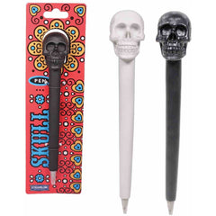 Skull Pen - Black & White