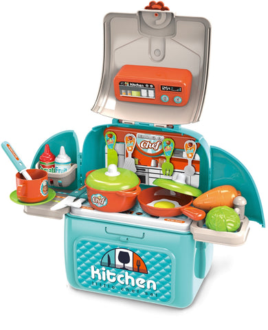 Chef Kitchen in a Backpack, 31 pcs