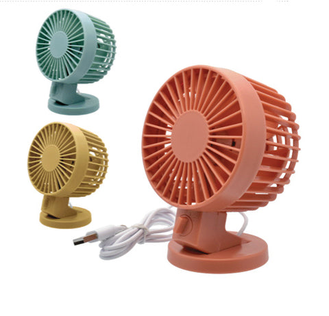 USB Turbo Desk Fan w/ Multi-Speeds