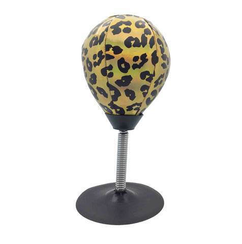 Leopard Stress Buster Punching Bag