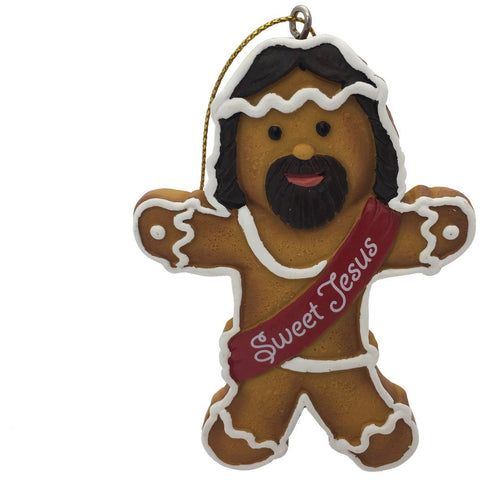 Crooked Christmas Ornament- Sweet Jesus