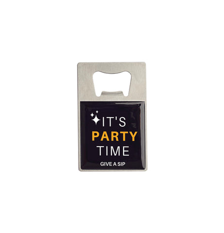 Pop It! Bottle Opener - It's Party Time