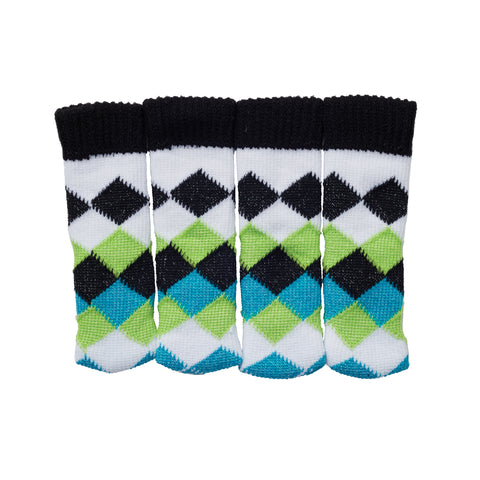Sock it to Ya! Chair Sock Set - Diamond Argyle/Cool