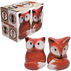 Foxy Salt & Pepper Set