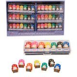 Penguin a Day Mini Eraser Set
