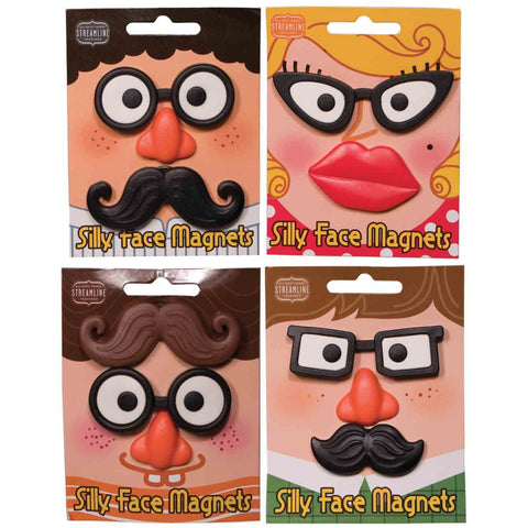 Silly Face Magnet Set