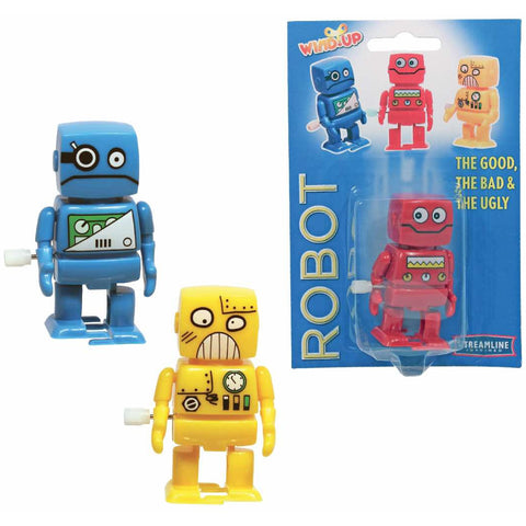 Good, Bad & Ugly Robot Wind Ups