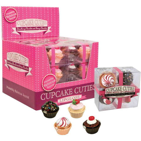 Cupcake Cuties Lip Gloss 4pc Set