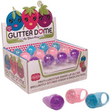 Glitter Dome Lip Gloss Ring