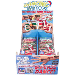 3 Magic Tattoos & 9 Stickers Motion Holiday Series