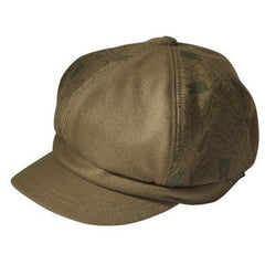 Newsboy Hat Olive Cat
