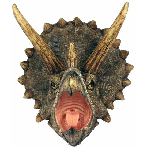 Triceratops Attack Plaque