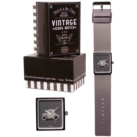 Vintage Icon Watch - Antique Car