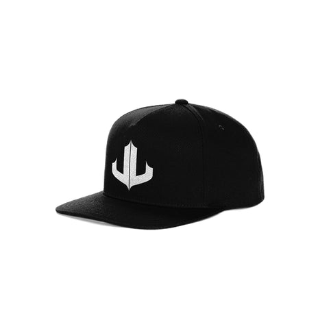 "Black & White Signature ""JL"" Snapback"