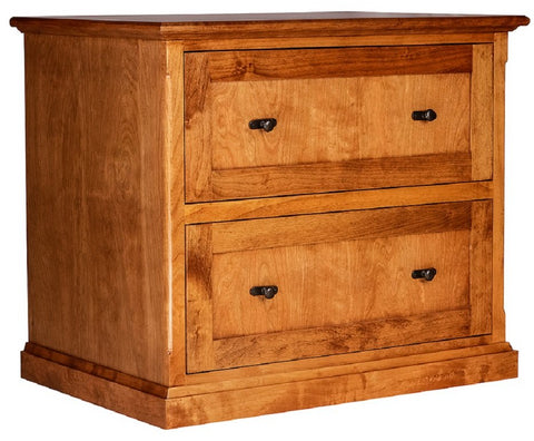 Forest Designs Mission Lateral File Cabinet (35W x 30H x 24D)