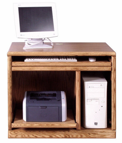 Forest Designs Bullnose Computer Stand (36W x 30H x 21D)