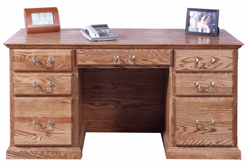 Forest Designs Traditional Desk (60W x 30H x 28D)