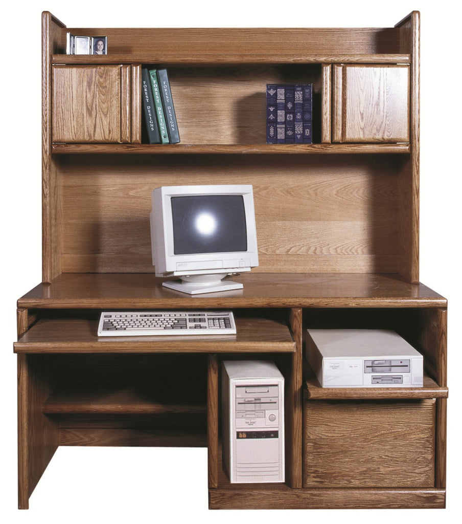 "Forest Designs Bullnose Hutch Only (60""W x 42""H x 13""D) Desk Only $1099"