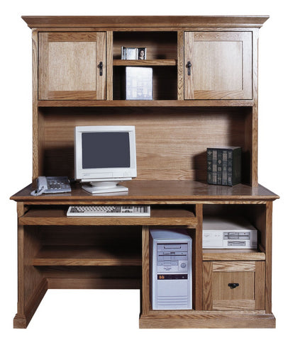 Forest Designs Mission Hutch for 1054/1061: 60w x 42H x 13D (Desk Sold Separately-$1,299)
