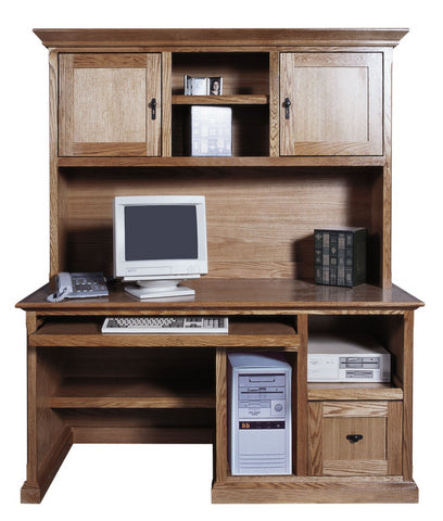 Forest Designs Mission Computer Desk: 60W x 30H x 24D (Hutch Sold Separately-$699)