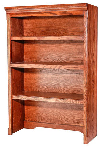 Forest Designs Traditional Oak Open Hutch: 32W x 48H x 13D