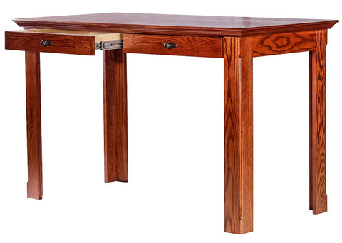 Forest Designs Traditional Writing Table w/ Drawers: 48W X 30H X 24D