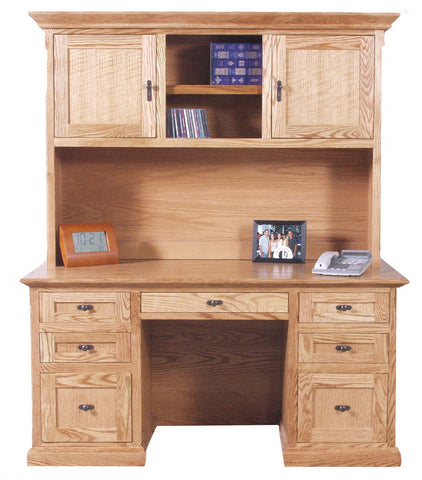 Forest Designs Mission Desk: 60W x 30H x 24D (No Hutch)