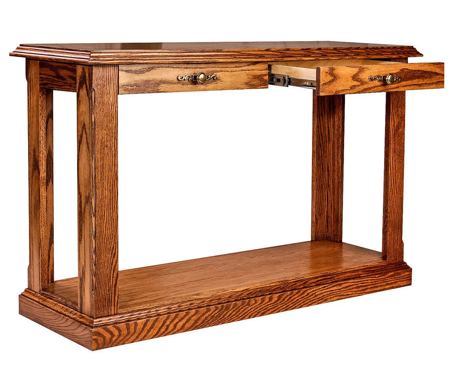 Forest Designs Traditional Sofa Table: 48W X 30H X 17D