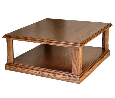 Forest Designs Traditional Area Table: 36W x 16H x 36D