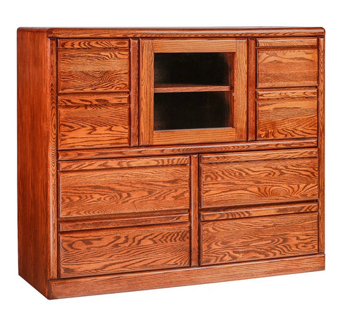 Forest Designs Bullnose Alder Entertainment Chest: 48W x 41H x 18D