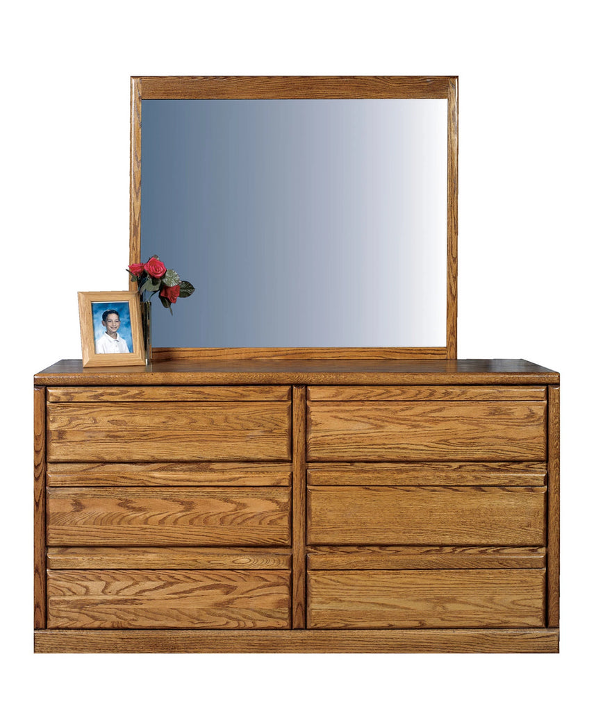 Forest Designs Bullnose Mirror for Dressers: 38W x 38H