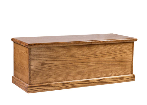 Forest Designs Bullnose Oak Cedar Chest: 48W x 21H x 18D