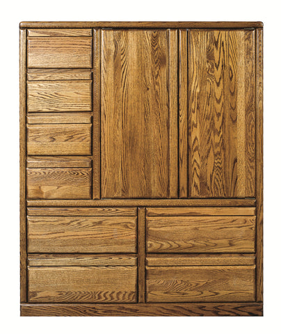 Forest Designs Bullnose Eight Drawer Armoire: 46W x 60H x 18D